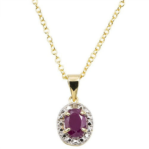 Purple Edge Diamond Necklace - CodeGearThemes
