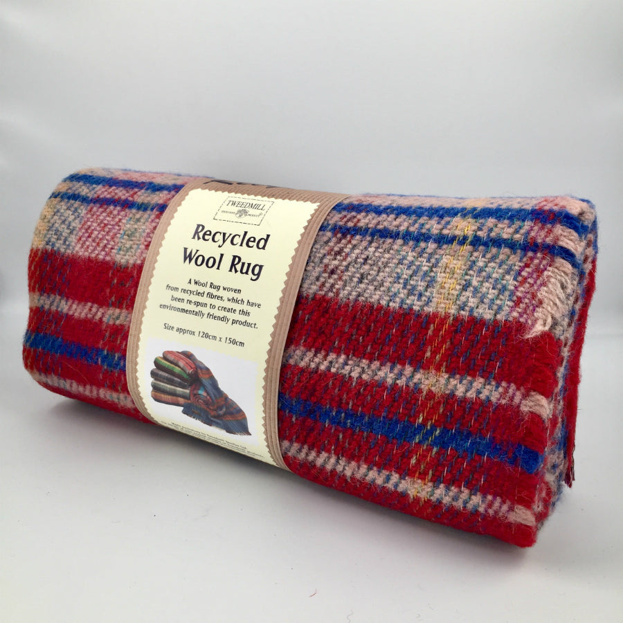Tweedmill Recycled Wool Picnic Rugs