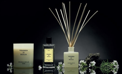 Cereria Molla Candle, Reed Diffuser, Room Spray home fragrance