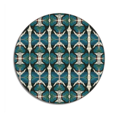 Avenida Home | Placemat | Blue Butterfly