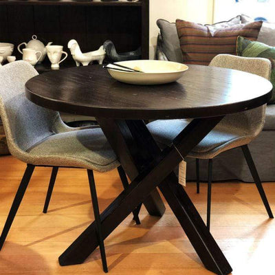 1500 mm(diameter) x 760 mm(H) Santa Fe Dining Table in Oak