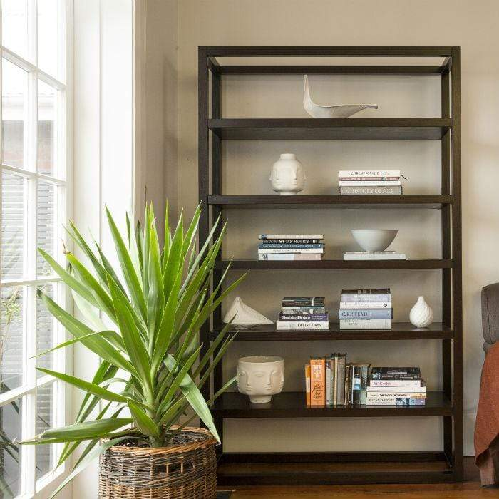 2000 (H) x 1200 (W) x 400 (D) Oak Open Bookcase