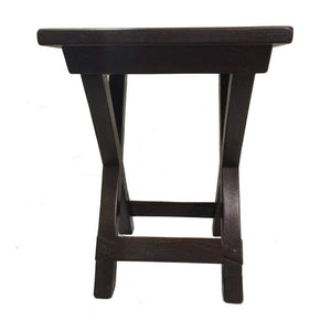 46x46x60 Trestle Side Table