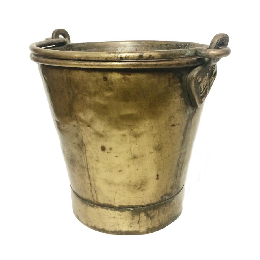 Anglo-Indian Brass Ice Bucket