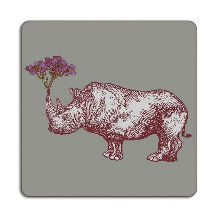 Animal Placemat - Rhino - UK