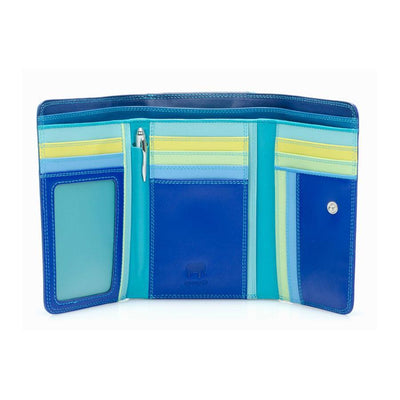 Aqua Mywalit Medium Tri-Fold Purse
