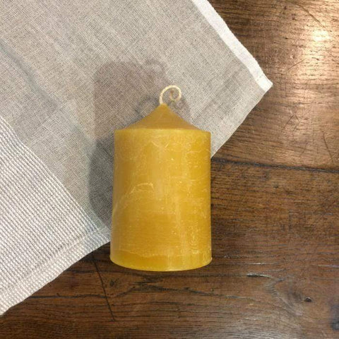 Beeswax Cafe Candle Natural Large