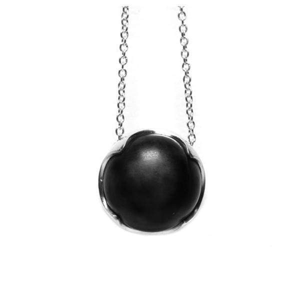 Being Change Necklace - Obsidian