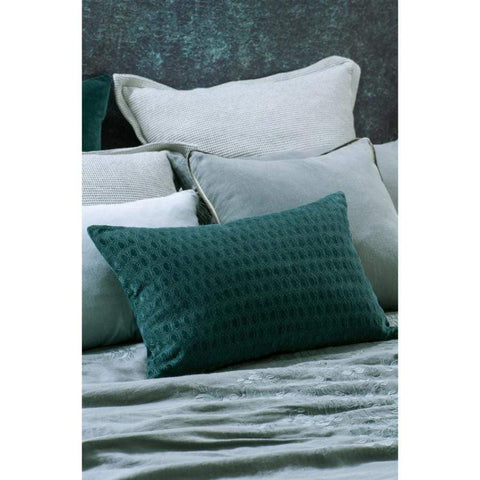 Bianca Lorenne Lilypad Teal Cushion