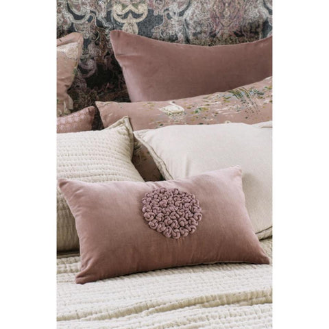 Bianca Lorenne Mirabel Cushion / Dusty Pink