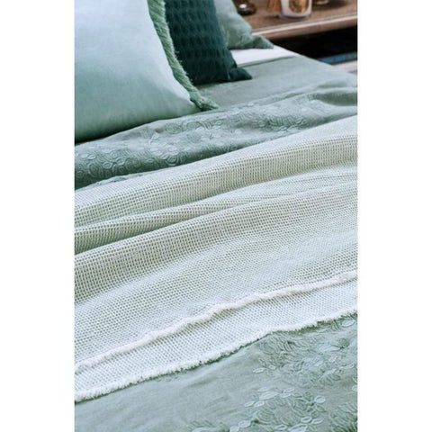 Bianca Lorenne Sottbosco Throw / Pale Ocean