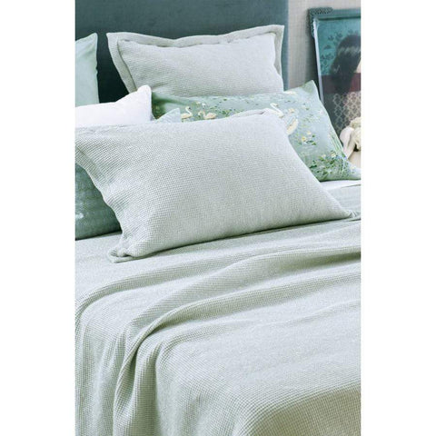 Bianca Lorenne Sottobosco Pillowcase / Pale Ocean