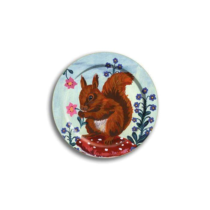 Birchwood Mini Tray Squirrel 4.5""