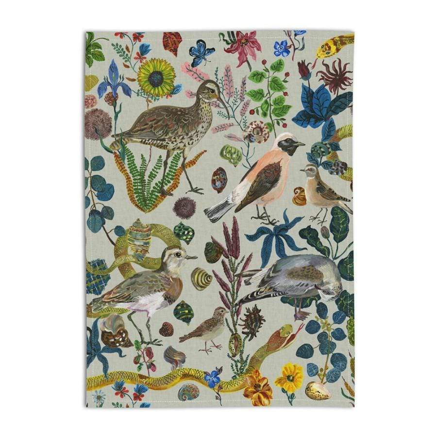 Bird in the Dunes- Linen Teatowel