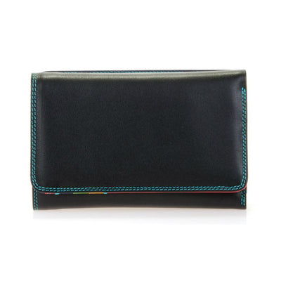 Black/Pace Mywalit Medium Tri-Fold Purse