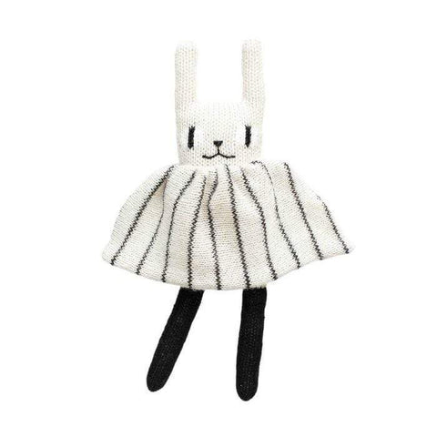 Black White Main Sauvage Rabbit Alpaca