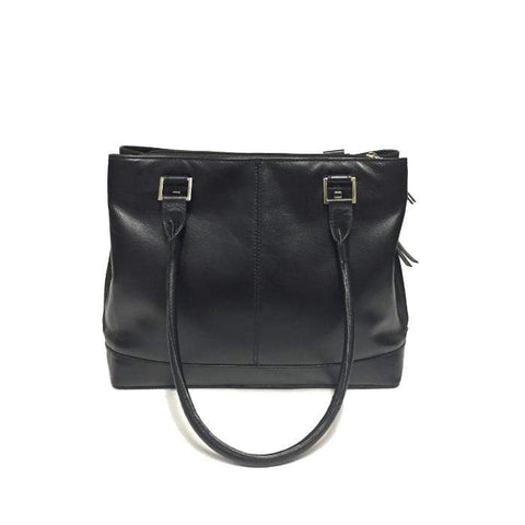 Black YK13 Leather Tote