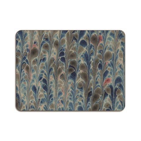 Blue Coral Marbled Placemat