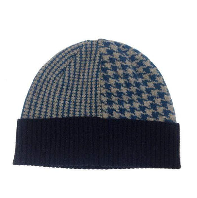 Blue Lambswool Glenfinnan hat