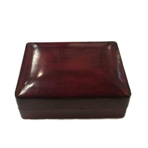 Bordeaux Italian Leather Jewellery Box
