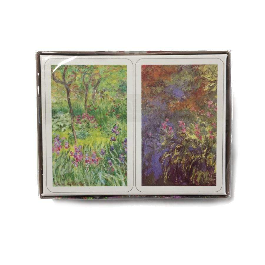 Bridge Playing Cards - Monet Giverny
