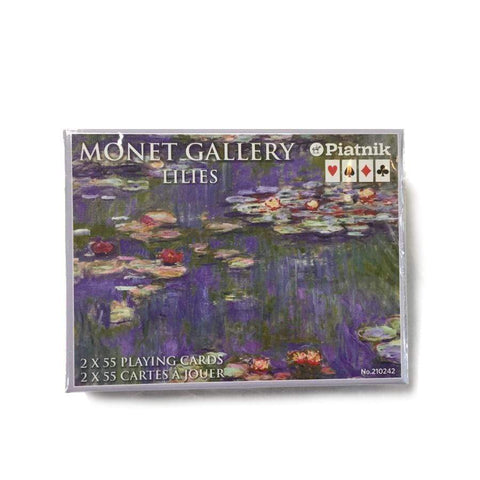 Bridge Playing Cards - Monet Lilies