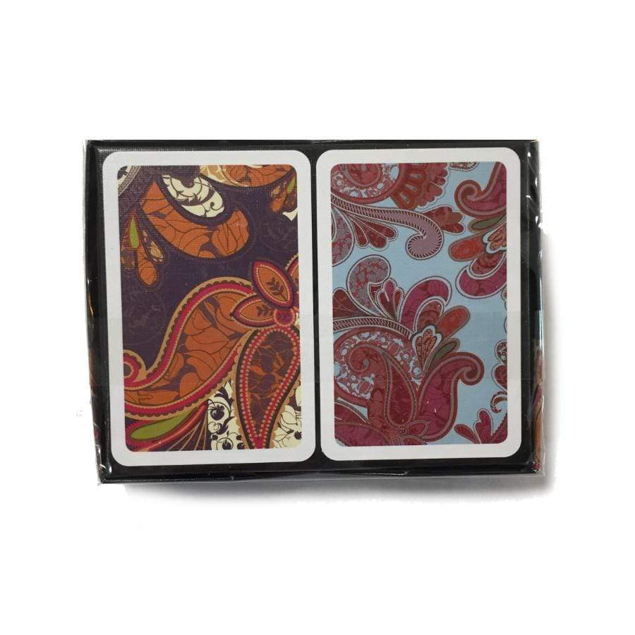 Bridge Playing Cards - Paisley