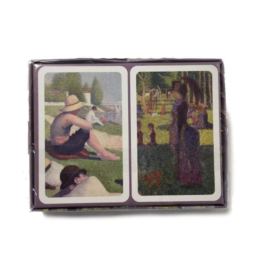 Bridge Playing Cards - Seurat