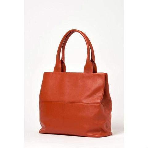 Burnt Orange Briarwood Carmel Bag