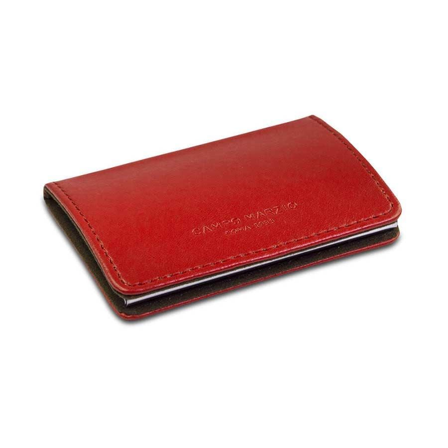 Campo Marzio - Magnetic Business Card Holder | Cherry Red