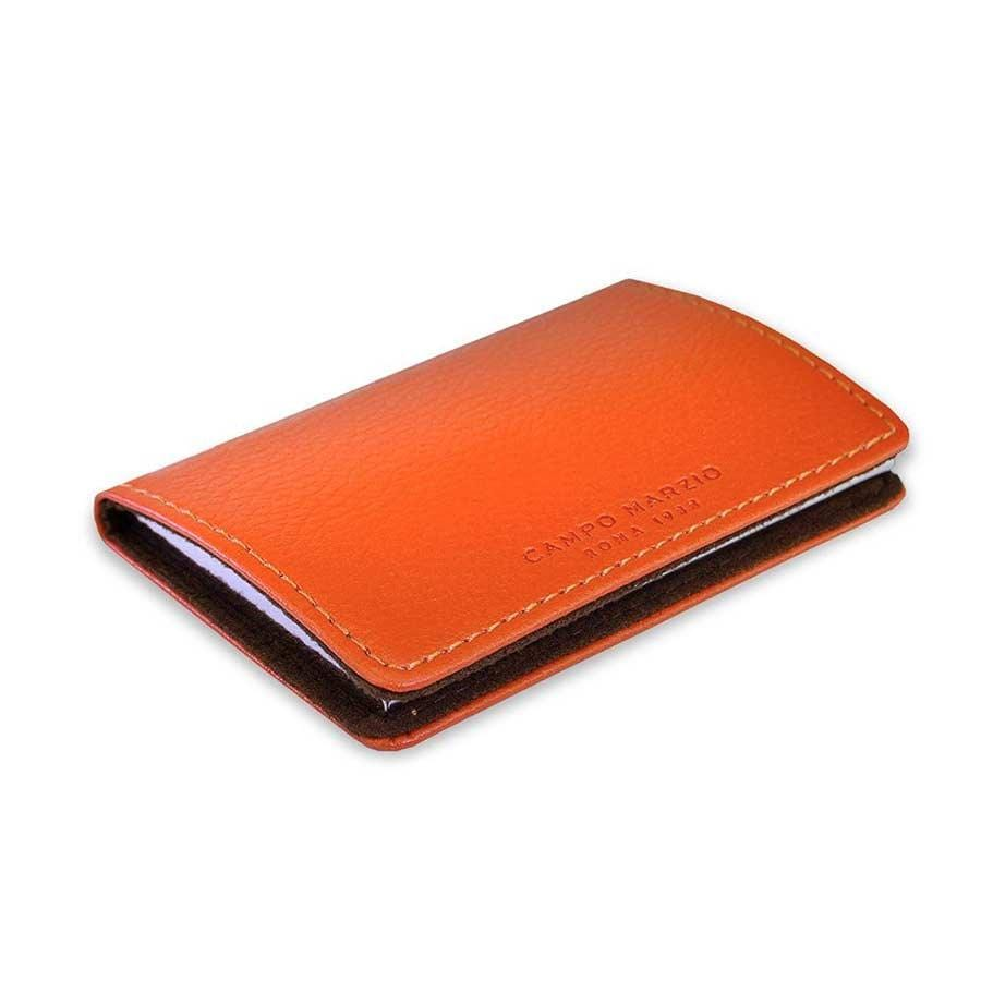 Campo Marzio - Magnetic Business Card Holder | Mandarin