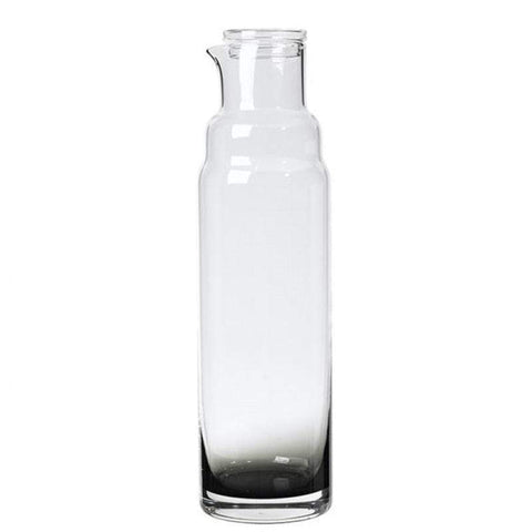 Carafe with Lid Smoke Tall
