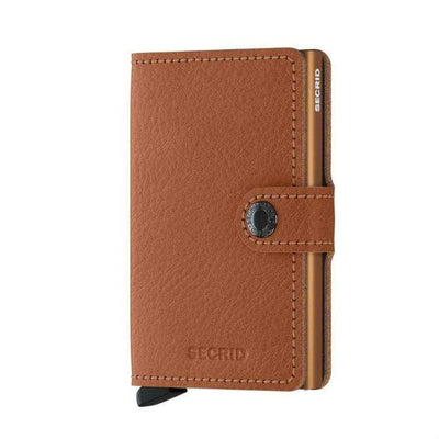 Caramello Secrid Mini Wallet Veg Tanned | Caramello