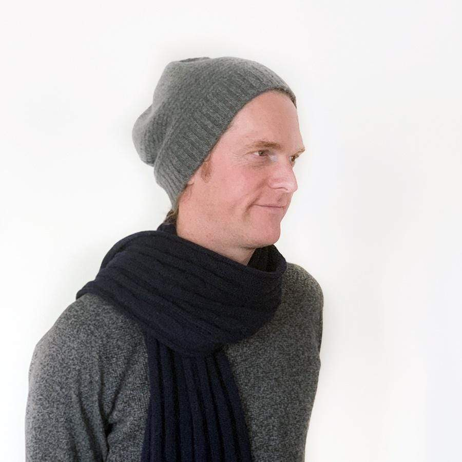 Cashmere Beanie | Light Grey