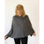 Cashmere Poncho | Light Grey