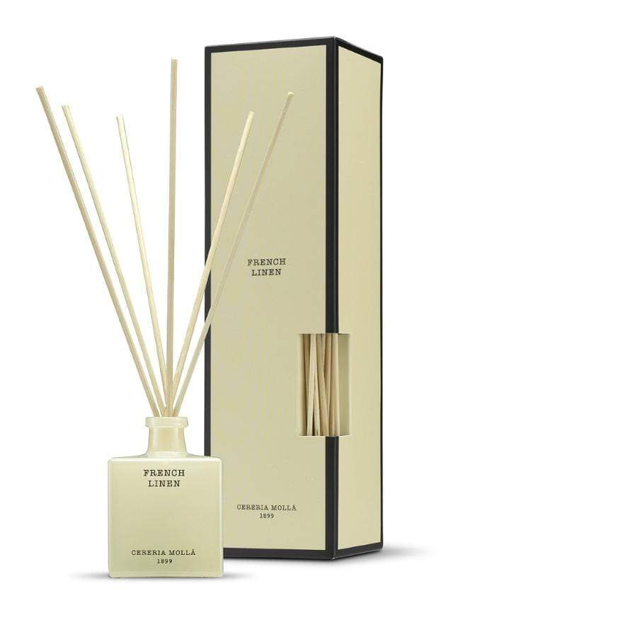Cereria Molla Reed Diffuser / French Linen