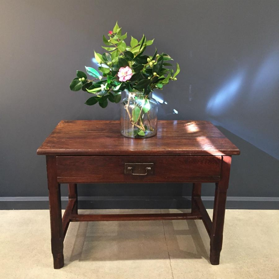 Chestnut Centre Table - French Antique c1860