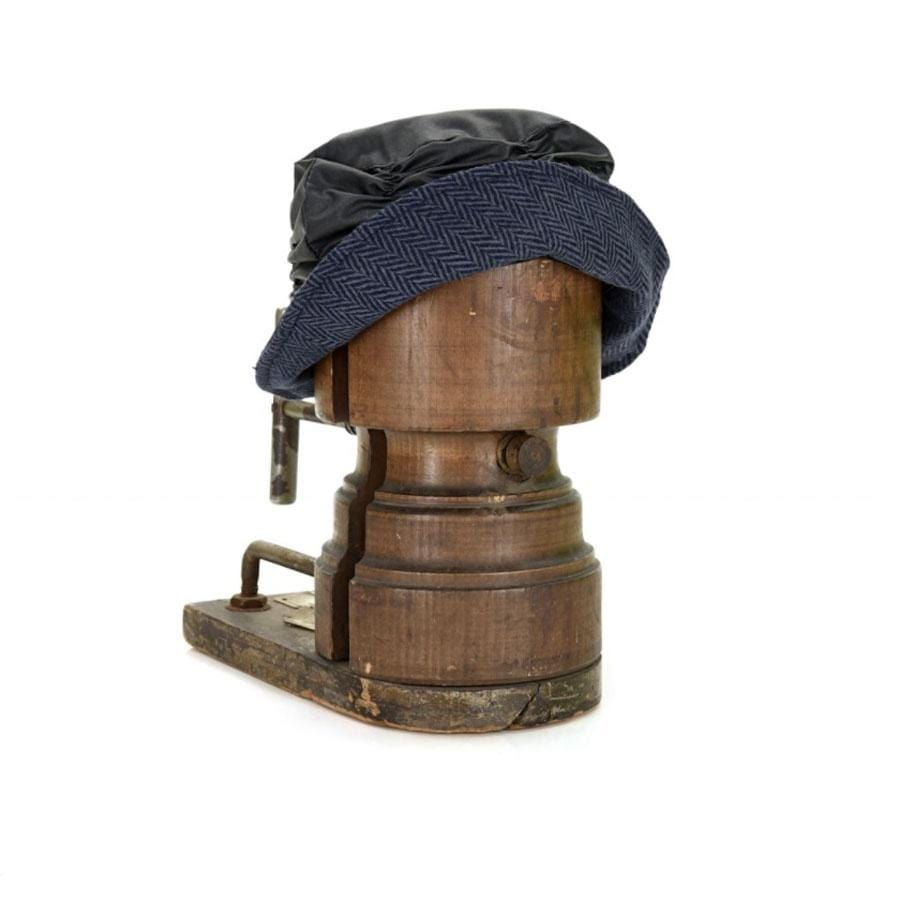 Cloche Hat | Navy Wax