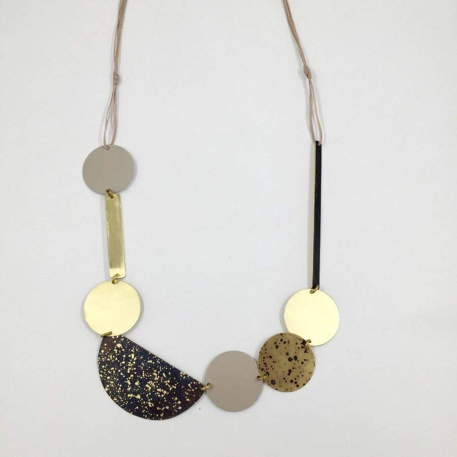 Cord Necklace- Cosmos