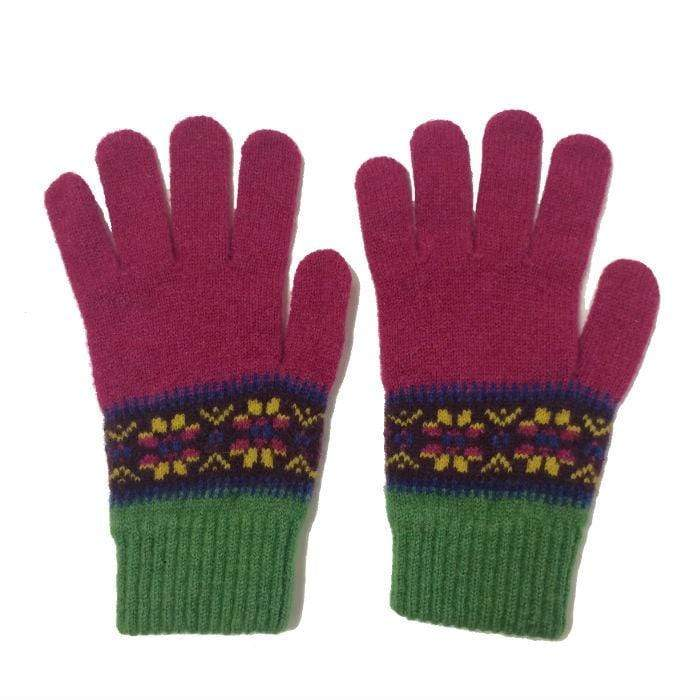 Cornelian/beech Islay gloves