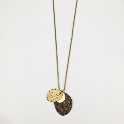 Cosmos Rocks From the Moon Necklace