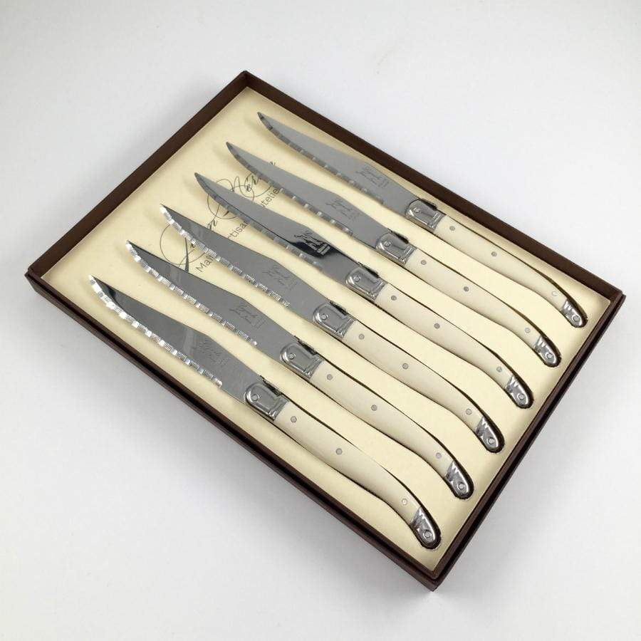 Cream Laguiole - Gift Box Steak Knives