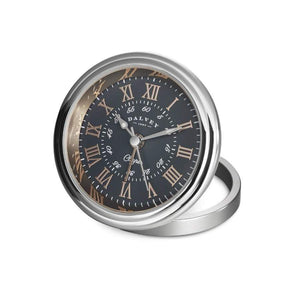 Dalvey Clipper Clock Grey and Rose Gold