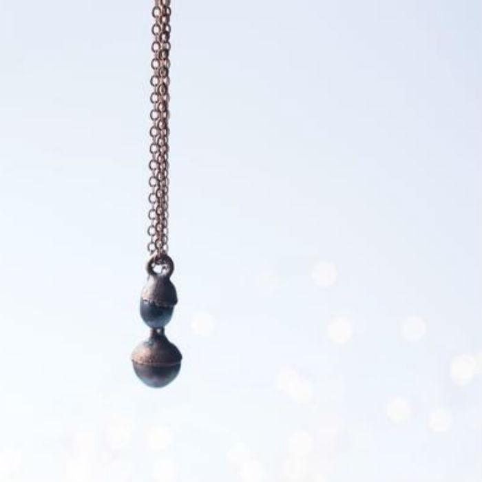 Dark Freshwater Pearl Necklace