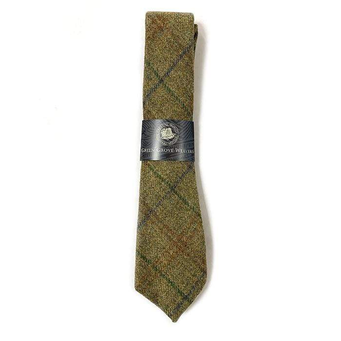 Dark Green (Torridon) Tweed Necktie - Torridon