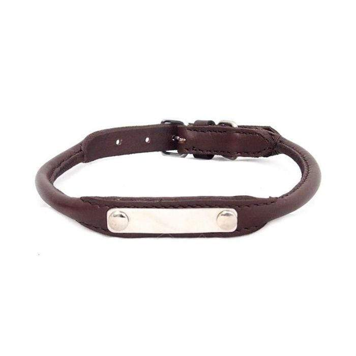 Dog Collar - Emu Rolled