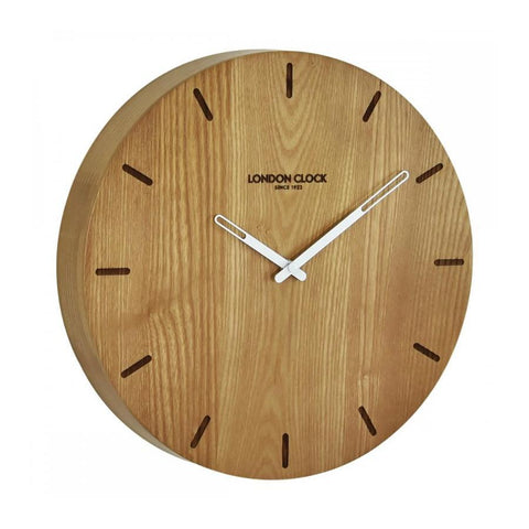 Eldis Wood Wall Clock 33cm