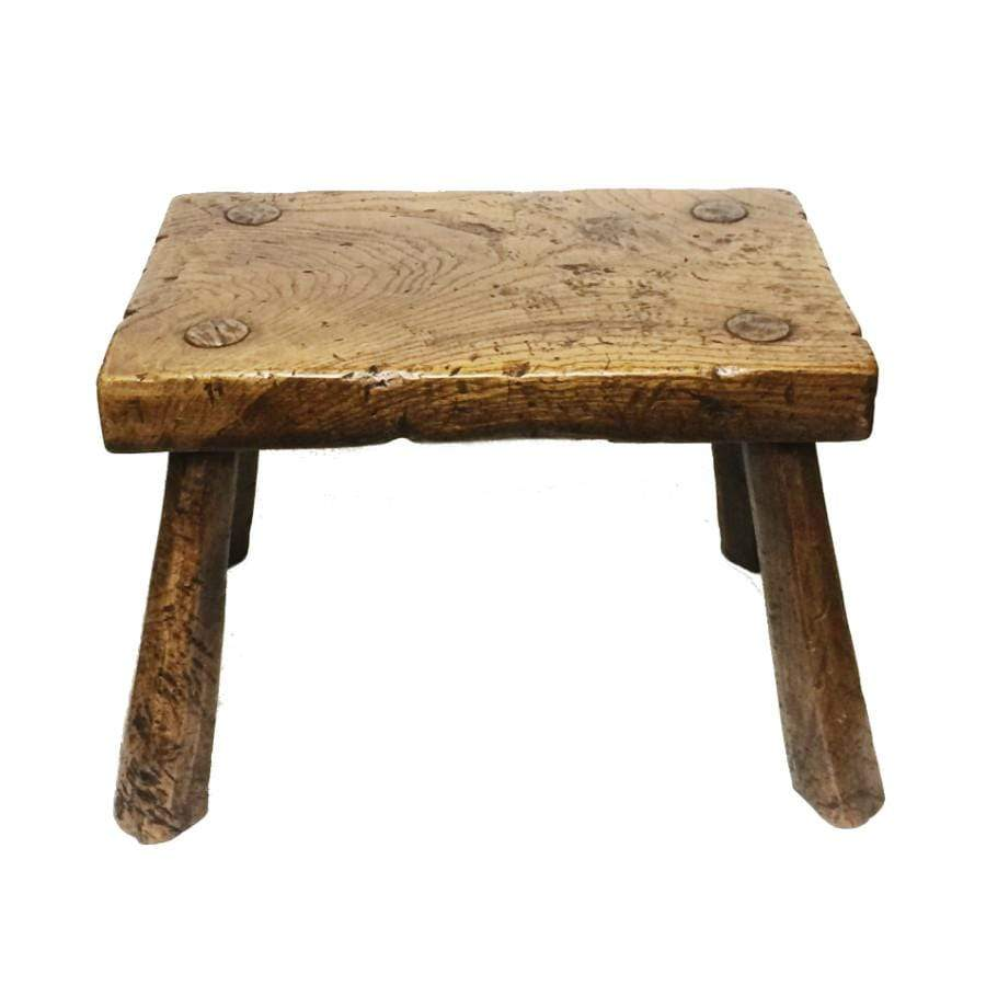 Elm Long Stool