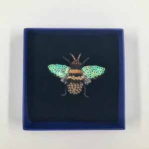 Embellished Brooch / Honey Bee