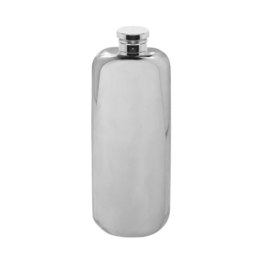 English Pewter Top Pocket  Flask - 3oz
